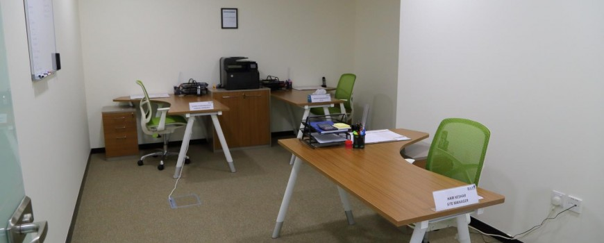 Office Common work room Al Habtoor Motors Building