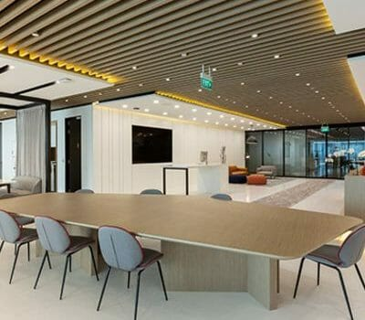 Asia Square Penthouse Office Space