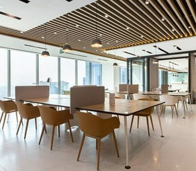 Asia Square Tower Office Space