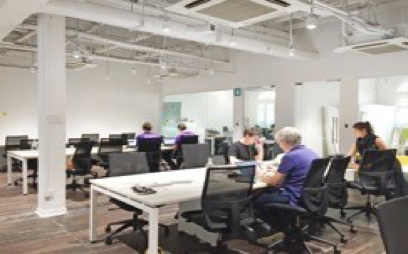 Workspace with 24/7 security access and 24/7 aircon unit