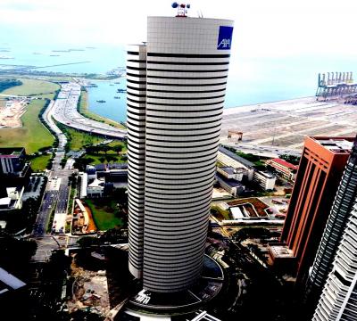 AXA Tower- Tanjong Pagar