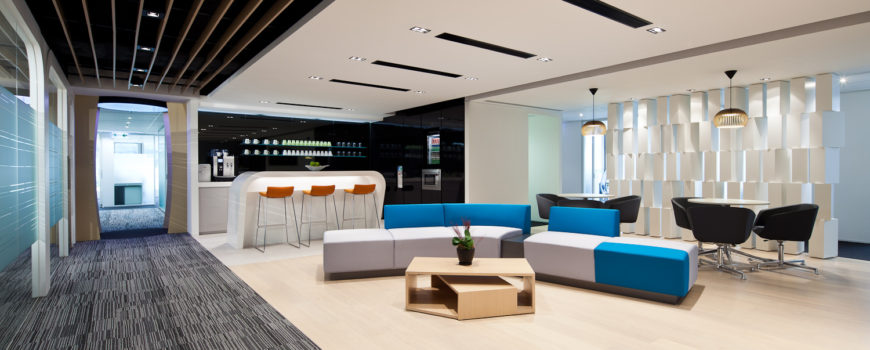 Stunning modern office Singapore