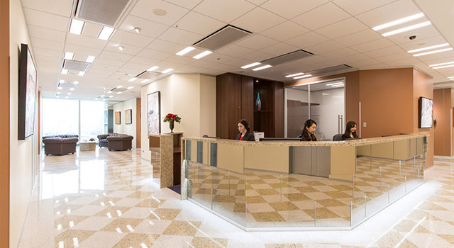 Reception Services In Singapore Office