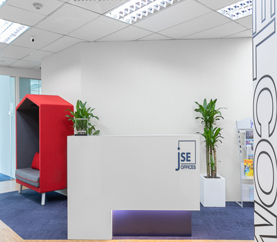 Octagon office space for rent