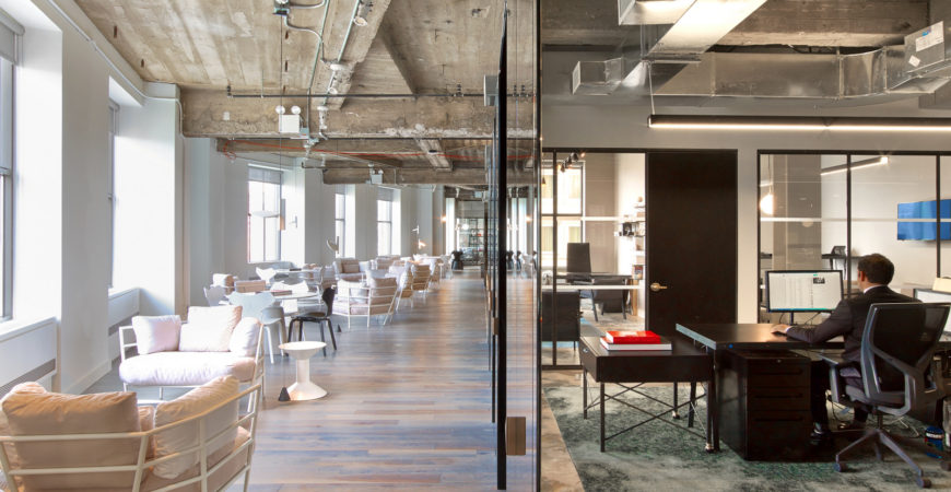 Serviced offices vs co-working space