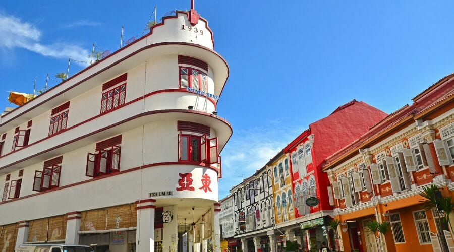 Shophouse Keong Saik road