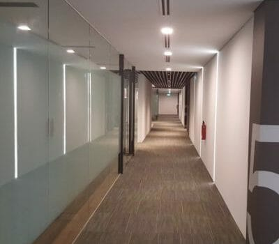 Hallway - Office Space